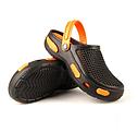 Мужские сабо черно-оранжевые (Код: Муж Сабо JA), фото 2