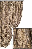 Ткань портьерная Гобелен Роза V9 Турция