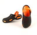 Кроксы подростковые черно-оранжевые (Код: Подр кроксы JA), фото 3