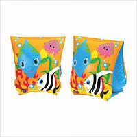 Детские надувные нарукавники для плавания Intex 58652 «Рыбки»