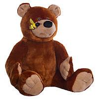 Детская мягкая игрушка, плюшевый мишка Топтыгин,коричневый