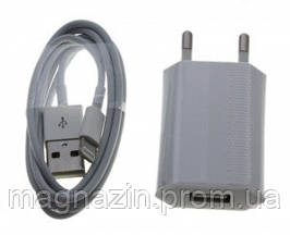 Купить USB зарядное 2 в 1 iPhone 5 (1000 Mah). Зарядка для 5 аЙфона