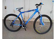 Горный спортивный велосипед 26 дюймов Azimu Fly 221-G-1(оборудование SHIMANO)синий ***