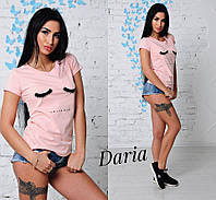 Женская красивая футболка (5 цветов), фото 1
