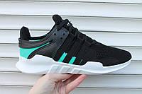 Мужские кроссовки Adidas Equipment black / green
