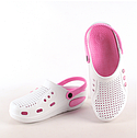 Женские сабо бело-розовые (Код: Жен сабо JA), фото 3