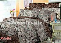 """Недорогой семейный комплект постельного белья """"Нежность прикосновения""""."""