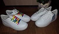 Белые кроссовки криперы на толстой подошве в наличии