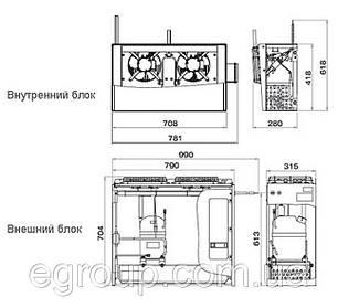 Сплит-система Polair SB 214 S, фото 2