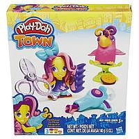 Игровой набор Play-Doh Hairdresser Житель и питомец (B3411-B5973)