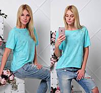 """Женская красивая футболка """"Выбор"""" (5 цветов), фото 1"""