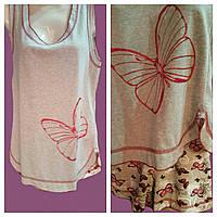 Пижама молодежная бабочка