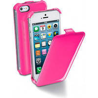 Флип-чехол Flap Fluo iPhone 5 Pink (FLAPFLUOIPHONE5P)