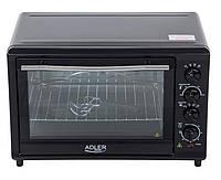 Электрическая настольная духовка - c функциями гриль, конвекция, таймер AD 6010