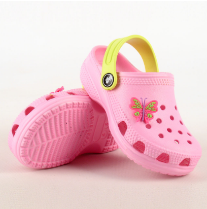 Детские кроксы розовые (Код: Дет кроксы JA 116134)