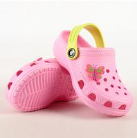 Детские кроксы на девочку