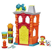 Пожарная станция Hasbro Play-Doh Town (B3415)