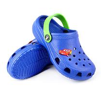 Детские кроксы синие ( Код: Кроксы JA)