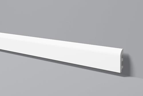 Напольный плинтус из высокоплотного полимера HDPS FL5 100*20 мм 2 м