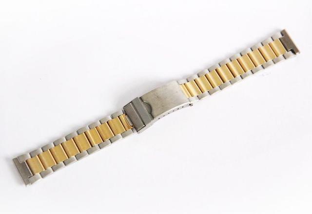 Браслеты для часов - стальные, замок с фиксатором