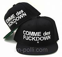 Кепка с прямым козырьком фирмы Comme des Fuck Down Snapback-KN-256