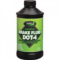 ТОРМОЗНАЯ ЖИДКОСТЬ Johnsen's Premium Synthetic DOT 4 Brake Fluid, фото 1