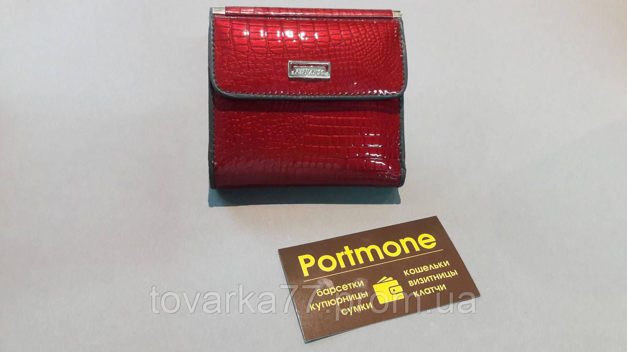 830fead9cd43 Женский кожаный кошелек Fernando маленький лак - Интернет-магазин