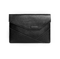 Кожаная папка для MacBook Issa Hara MC13 (11-00) черная