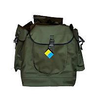 """Рюкзак """"Охотник"""" 60л (зеленый, ткань-оксфорд 500D)"""