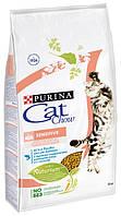 Корм для кошек с чувствительным пищеварением Cat Chow Sensitive Salmon, 15 кг