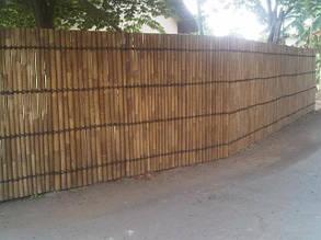 Декоративные заборы, ограждения для клумб из бамбука и дерева