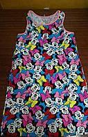 Летнее детское платье  Минни