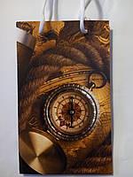 Пакет подарочный бумажный малый 11х18х6 (21-020)