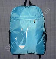 Рюкзак 15 л 113991 голубой с белым спортивный школьный размер 27 см х 40 см х 15 см