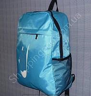 Рюкзак 15 л 113991 голубой с белым спортивный школьный размер 27 см х 40 см х 15 см , фото 1