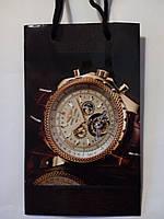 Пакет подарочный бумажный малый 11х18х6 (21-021)
