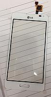 Тачскрин / сенсор (сенсорное стекло) для LG Optimus F6 D500 | D505 | MS500 (белый цвет)