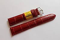 Ремешок для часов Modeno-кожаный ремень для часов красного цвета 20 мм.