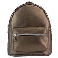 Рюкзак Mini 23*23*13см женский/молодёжный городской кожзам TIGER (Украина), золото