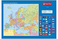 Подкладка для письма Карта Европы 590x415 мм