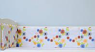 Бортики защитные для кроватки детской  «Волшебный сад», фото 1
