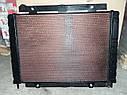 Радиатор Газель NEXT алюминиевый (2ух рядный) с медным интеркуллером (пр-во Иран Радиатор), фото 3