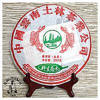 Чай Пуэр (Шен) Ту Линь Е Шэн Цяо Му