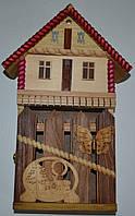 Ключниця - копілка дерев'яна - ручна робота .