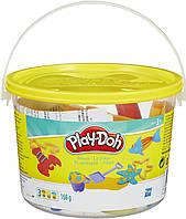 Набор пластилина Play-Doh Мини ведерко Пляж (23414-23242)