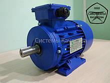 Электродвигатель 1,1 кВт 3000 об. Асинхронный Трехфазный АИР71B2.