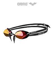 """Зеркальные очки """"шведки"""" для плавания Arena Swedix Mirror (Red), фото 1"""