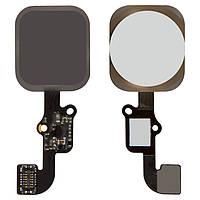 Шлейф Apple iPhone 6 на кнопку HOME + Touch ID (Білий) Original