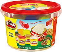 Набор пластилина Play-Doh Мини ведерко Пикник (23414-23412)