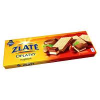 Вафли со вкусом ореха Нугад Zlate Oplatky Nugatove 146g.